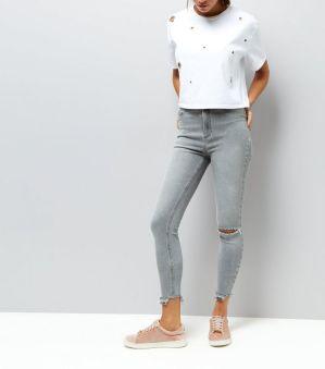 jean-skinny-hallie-gris-taille-haute-déchiré-aux-genoux